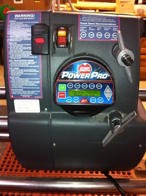 Power Pro Headstock