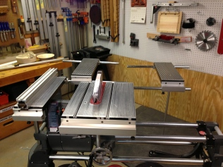One of many other ways to utilize the Shopsmith Mark 7 table system