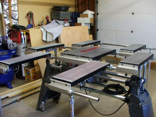John Burgers Ultimate saw table for Shopsmith