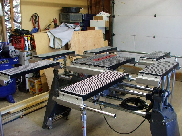 John Burger's Ultimate Shopsmith Table System