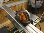 TrueTrac with skil saw